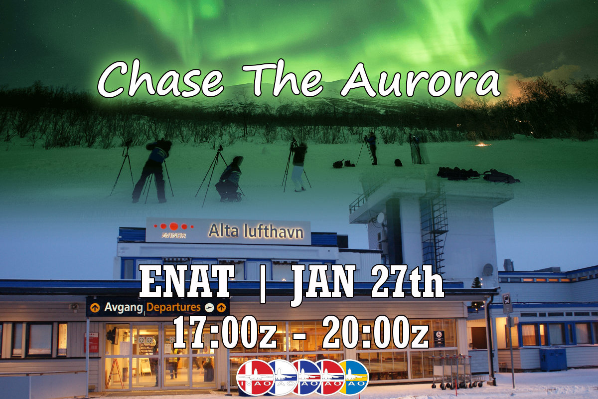 Chase the norhern lights 2018 banner v1.0