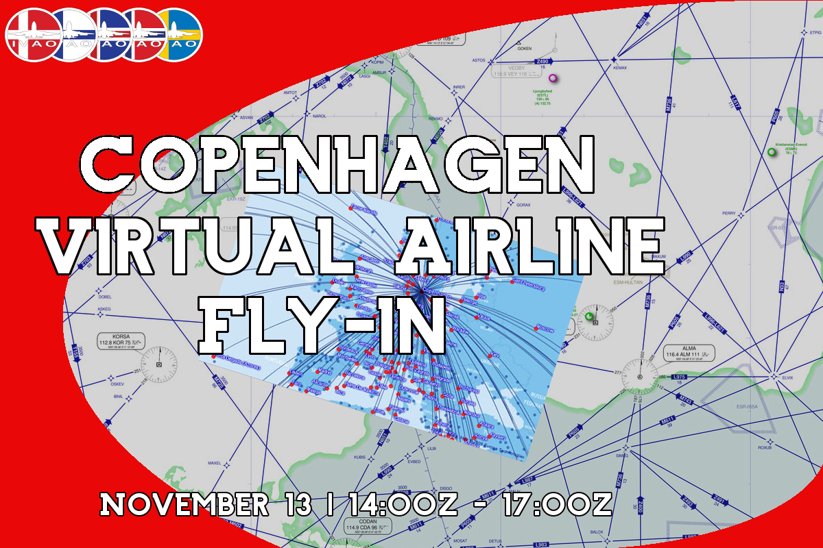 Copenaghen Virtual Airline Fly-In